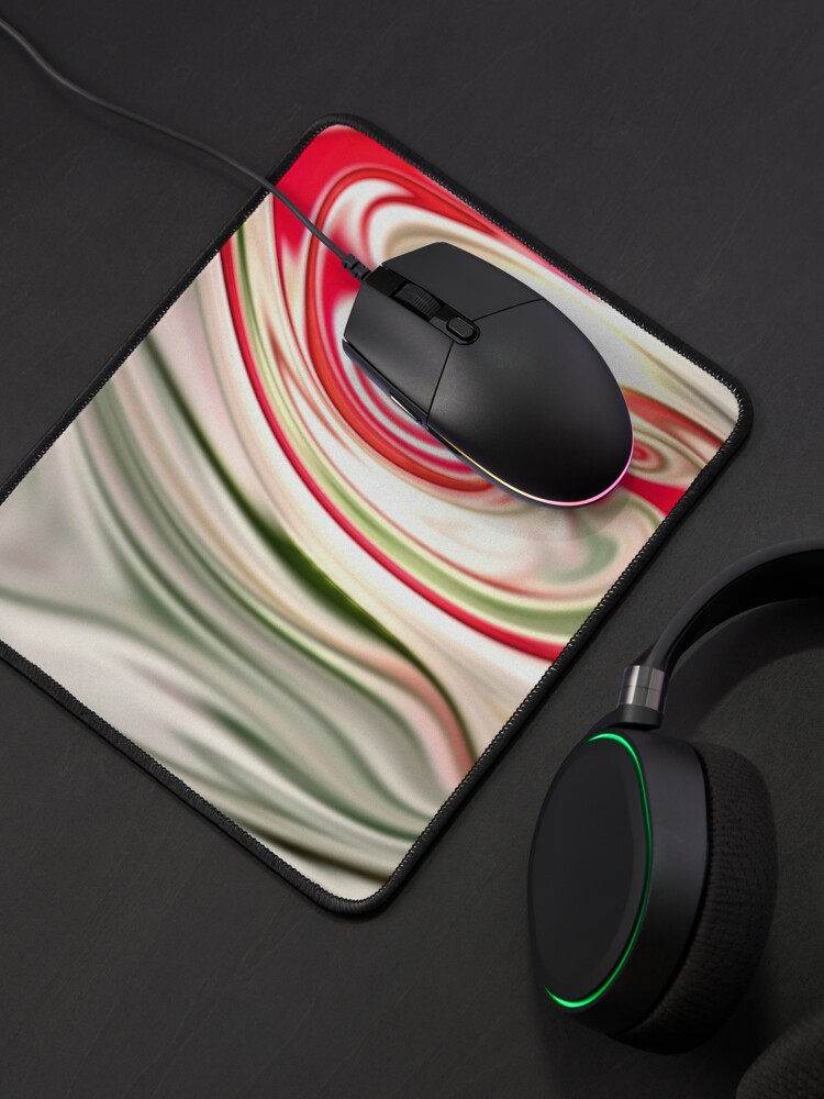 Alternate view of Multicolored unique everlasting pattern. Abstract watercolor new collection.  4  Mouse Pad