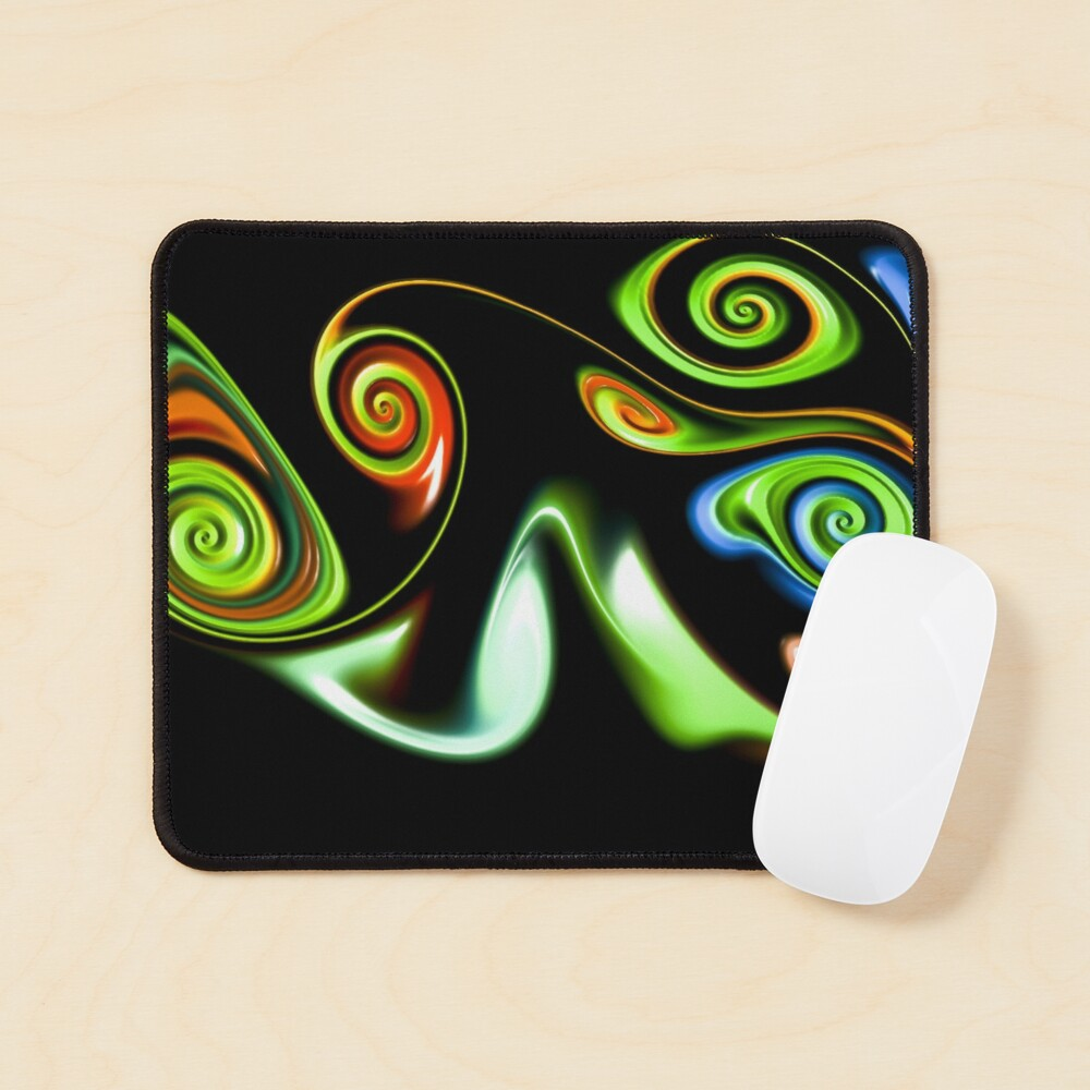 Abstract decorative patterns design Mouse Pad