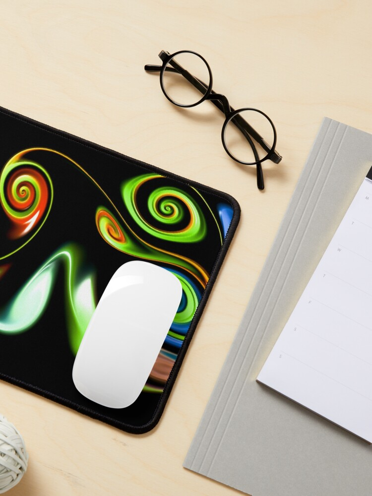 Alternate view of Abstract decorative patterns design Mouse Pad