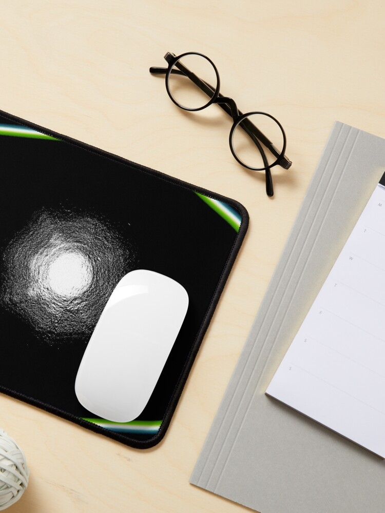 Alternate view of Abstract acrylics patterns design Mouse Pad