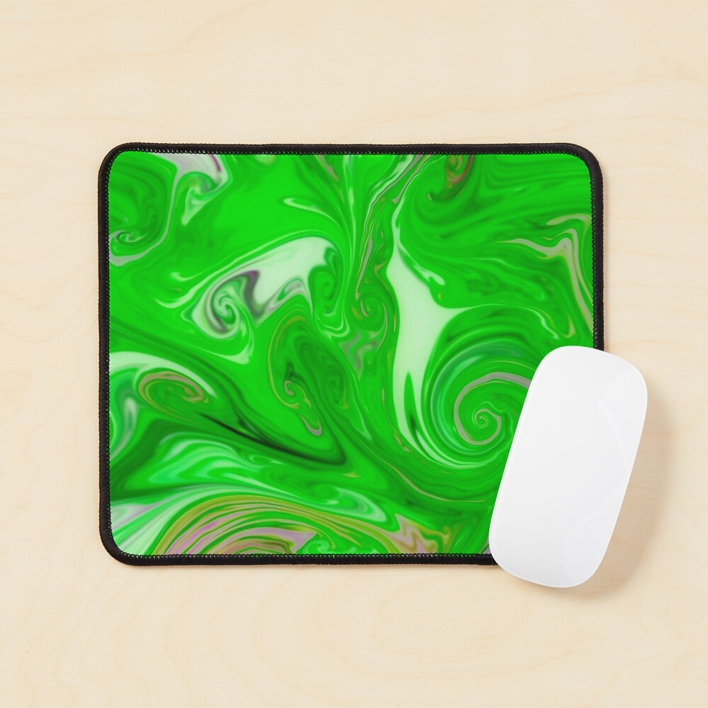 Multicolored unique everlasting pattern, decorative,  aesthetic design, acrylics Mouse Pad
