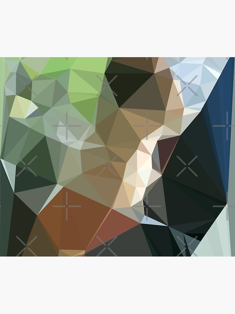 Abstract  patterns, decorative,  random colorful geometric design by CWartDesign