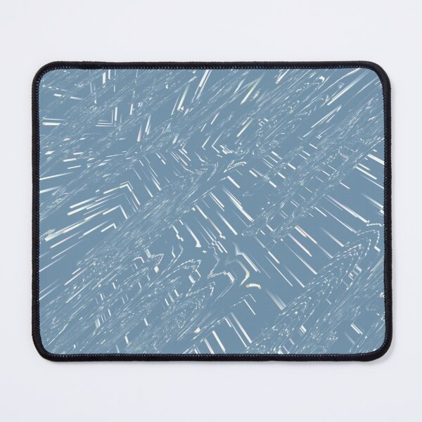 Abstract  patterns, decorative,  random colorful geometric design Mouse Pad