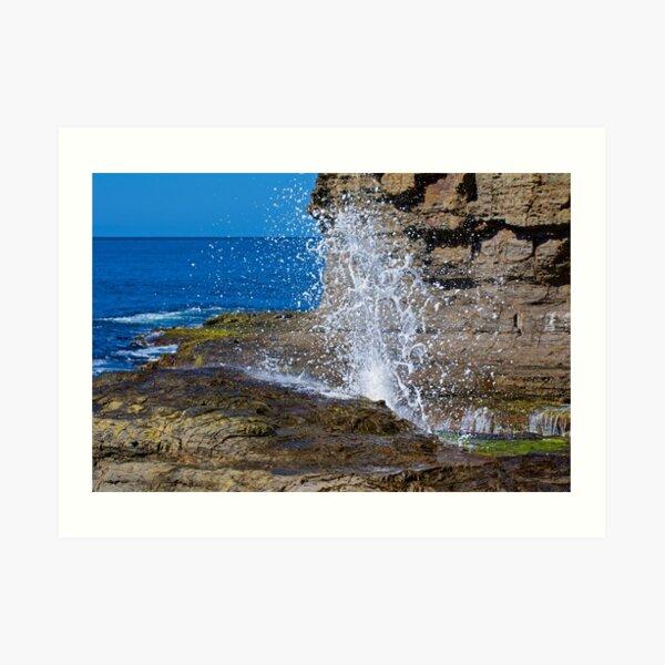 TASMAN PENINSULA ~ D1G1TAL-M00DZ ~ Tesselation and Water by tasmanianartist Art Print