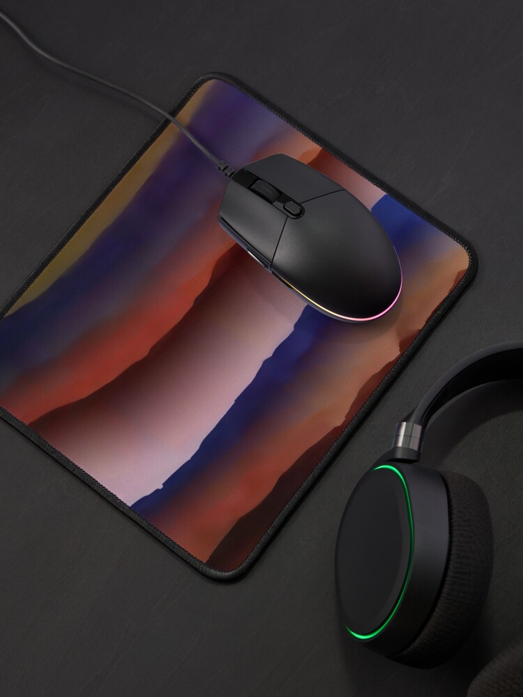 Alternate view of Abstract acrylics patterns Abstract artwork collection design file 008 Mouse Pad