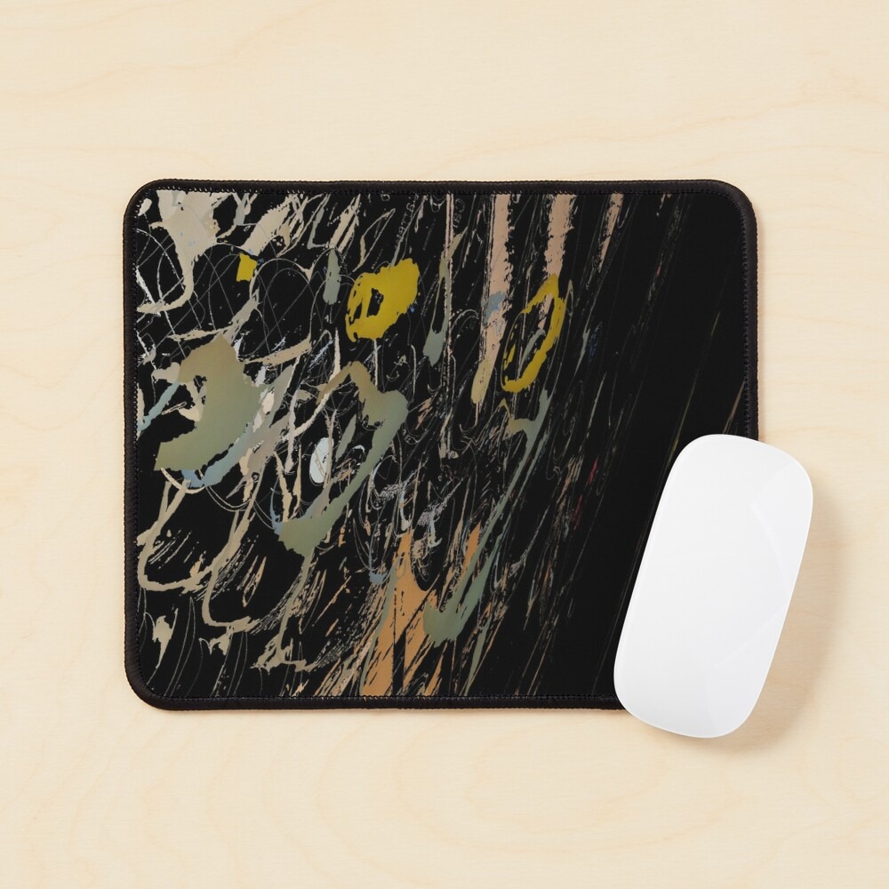 Abstract acrylics patterns Abstract art collection design no. 058 Mouse Pad