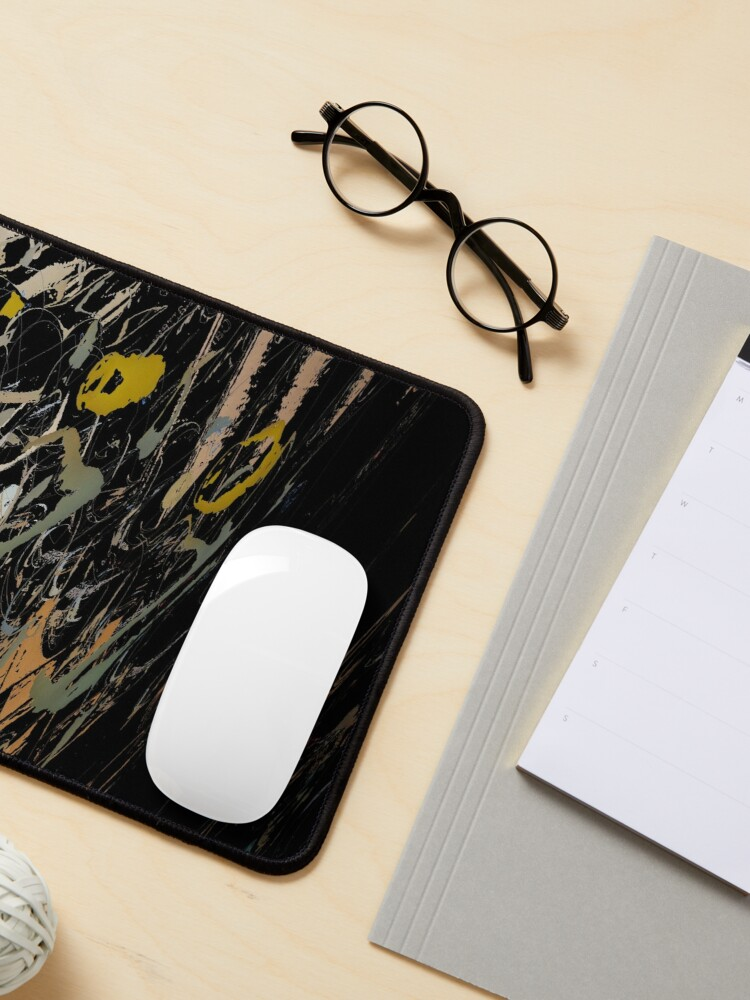Alternate view of Abstract acrylics patterns Abstract art collection design no. 058 Mouse Pad