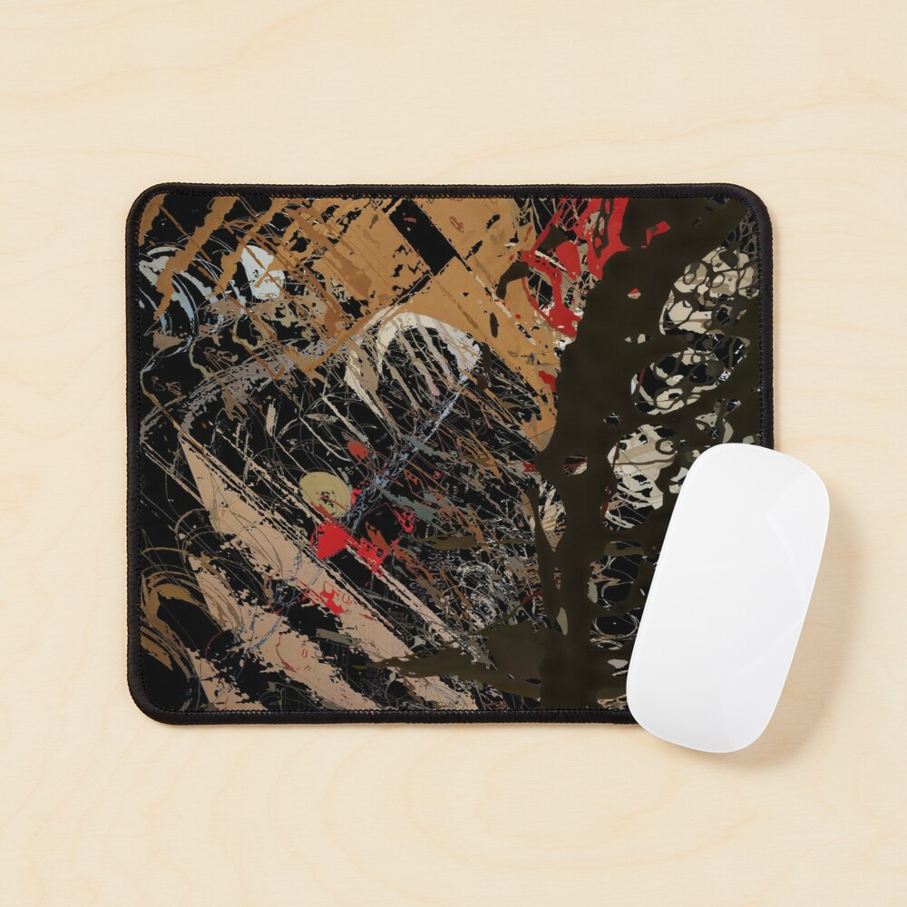 Abstract acrylics patterns Abstract art collection design no. 060 Mouse Pad