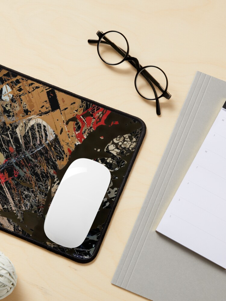Alternate view of Abstract acrylics patterns Abstract art collection design no. 060 Mouse Pad
