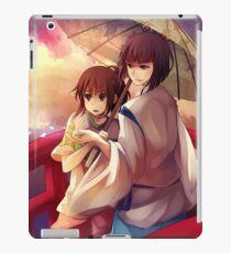 Chihiro and Haku  iPad Case/Skin