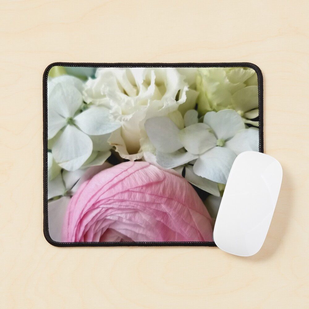 Ask me about my flowers Spring multicolored flowers, soft and beautiful perfect for your home Mouse Pad