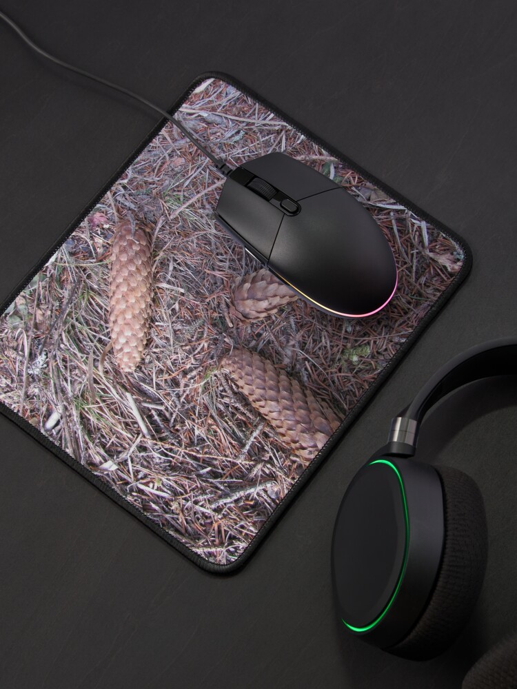 Alternate view of Three brothers on a forest Mouse Pad