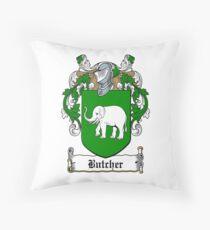 Butcher (Cork) Throw Pillow