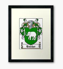 Butcher (Cork) Framed Print