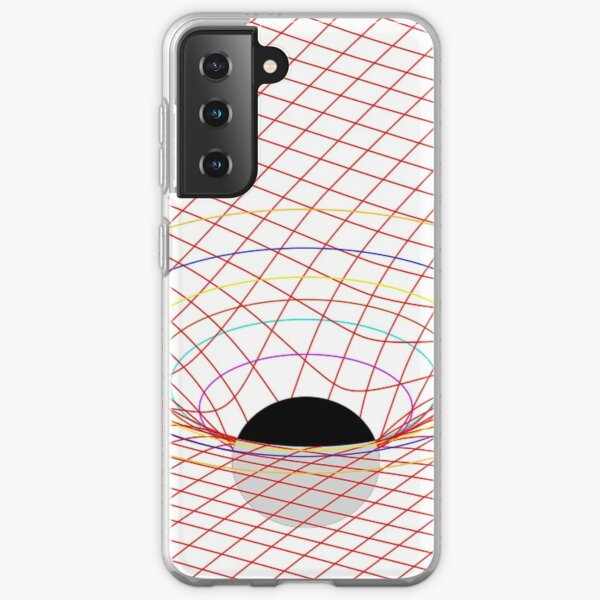 Induced Spacetime Curvature, General Relativity Samsung Galaxy Soft Case