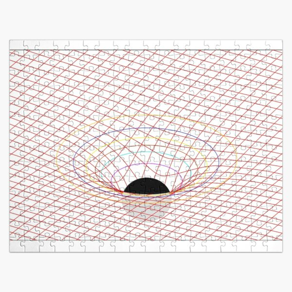 Induced Spacetime Curvature, General Relativity Jigsaw Puzzle