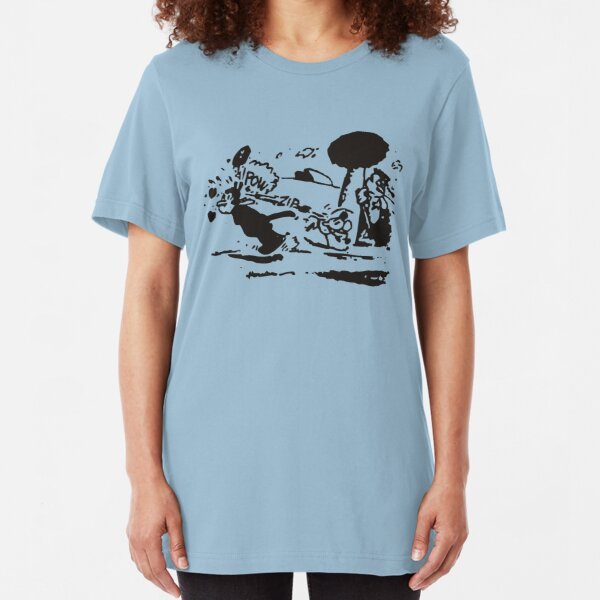 Pulp Fiction - Krazy Kat Slim Fit T-Shirt