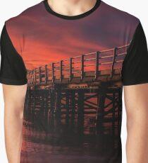 Bridge at Sunrise Graphic T-Shirt