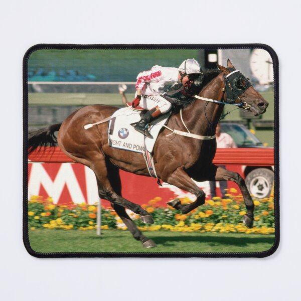 Might and Power winning the 1998 Cox Plate Mouse Pad