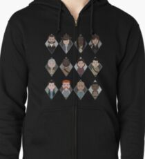The Walking Dead: Squad Goals Zipped Hoodie