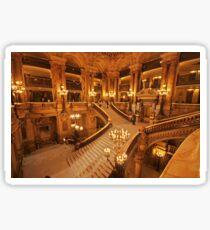 Opera Garnier staircase Sticker