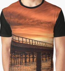 Dawn Bridge Graphic T-Shirt