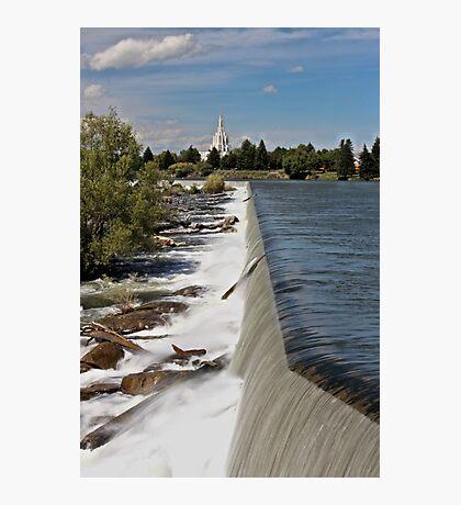 Idaho Falls Photographic Print