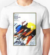 BICYCLE RACING; Vintage European Advertising Print Unisex T-Shirt
