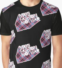 MAKE FASHION NOT WAR Graphic T-Shirt