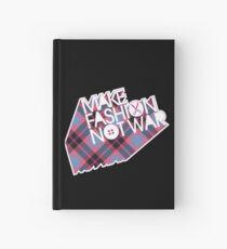 MAKE FASHION NOT WAR Hardcover Journal