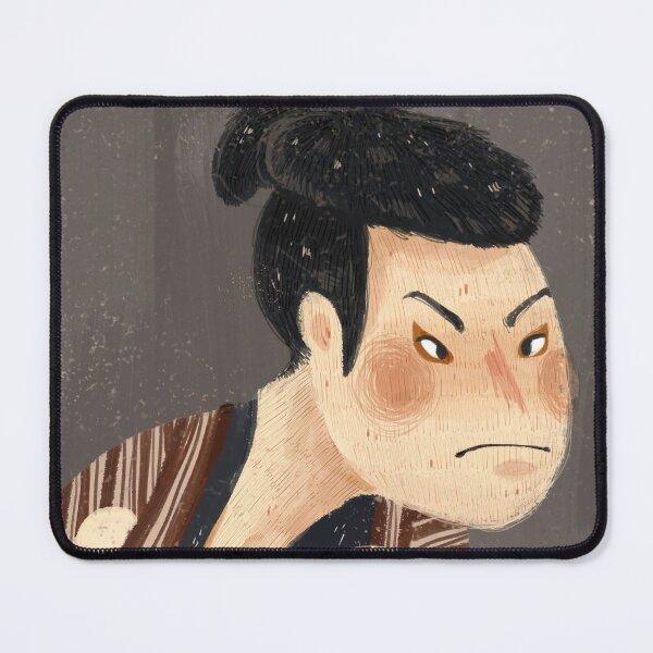 Japanese Classic Painting Ukiyo-e Sharaku kabuki with pug dog Mouse Pad