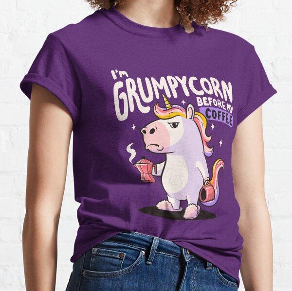 Grumpycorn - Cute Grumpy Unicorn Coffee Gift Classic T-Shirt