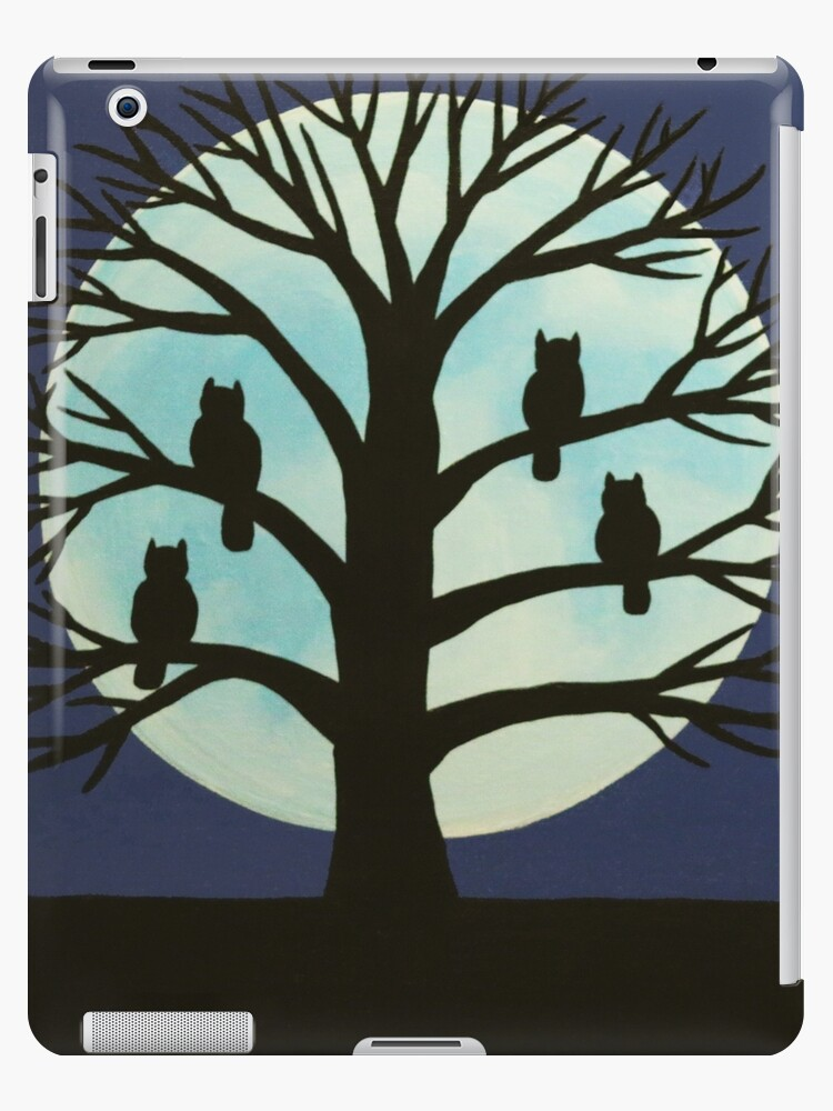 'Spooky Owl Tree' iPad Case/Skin