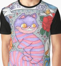 We are all mad here - Cheshire cat  Graphic T-Shirt