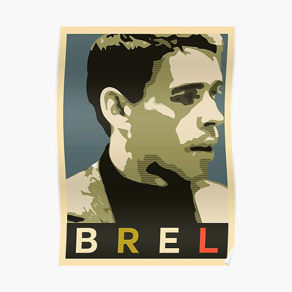 Jacques Brel Poster