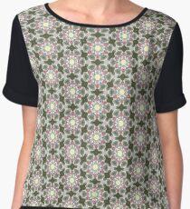 Edwardian Floral Women's Chiffon Top