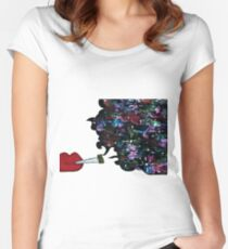 Galaxy Joint Women's Fitted Scoop T-Shirt