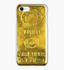 Gold Bar iPhone Case/Skin