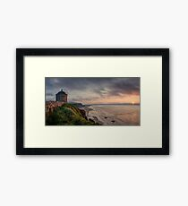 Mussenden Sunset Framed Print