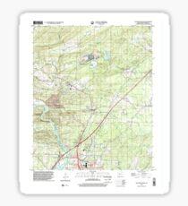 USGS TOPO Map Arkansas AR Malvern North 258999 2000 24000 Sticker