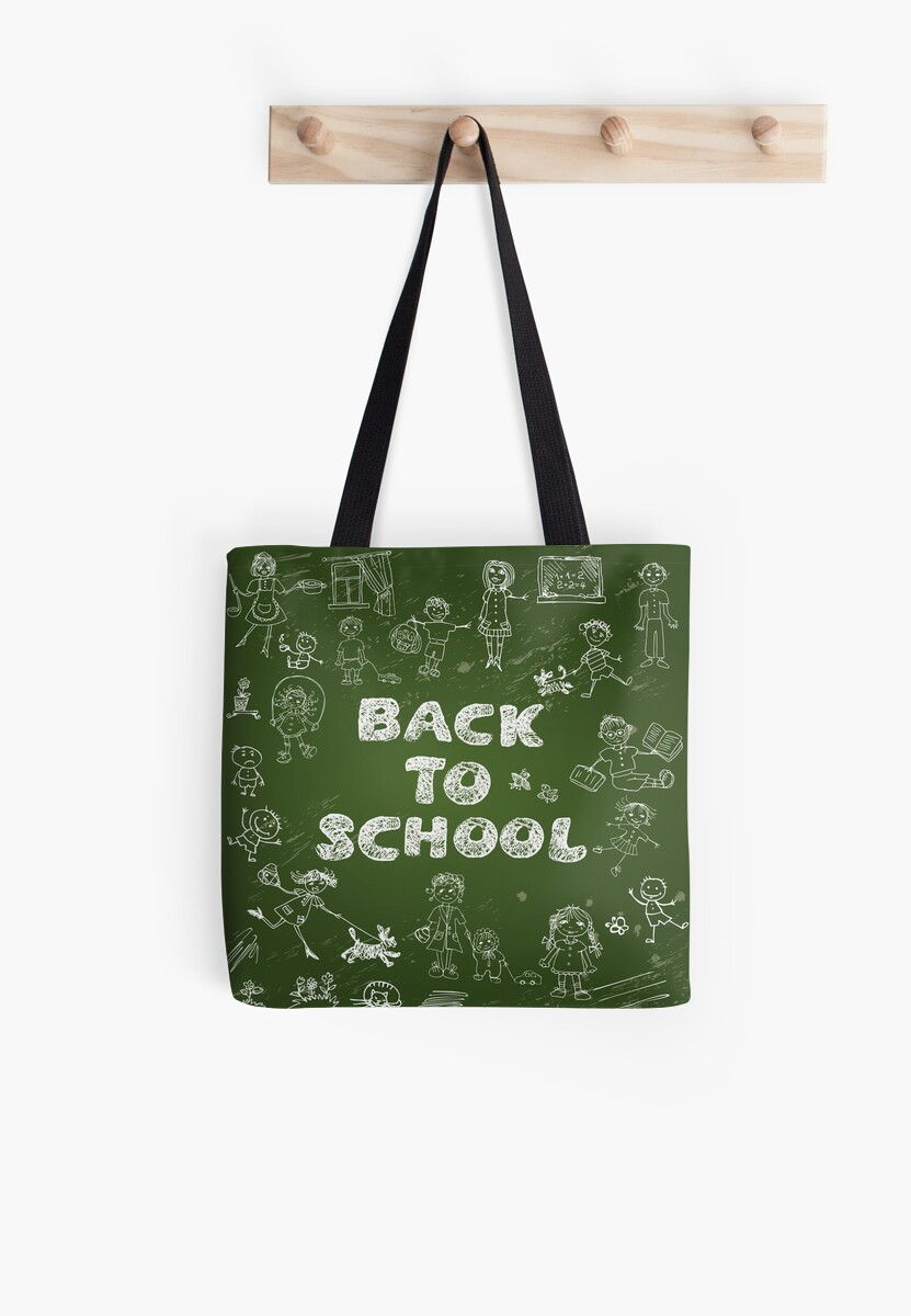 Our Back To School tote bags are great for carrying around your school & office work, or other shopping purchases. Shop our designs today!