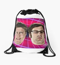 Tim and Eric Awesome Show Drawstring Bag