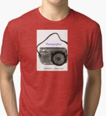Photography Fun Tri-blend T-Shirt