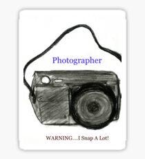 Photography Fun Sticker