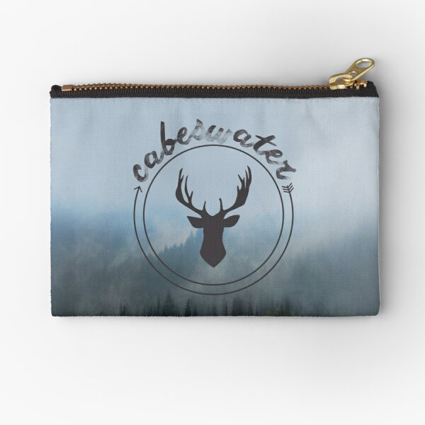 The Raven Cycle - Cabeswater Logo (Woods) Zipper Pouch