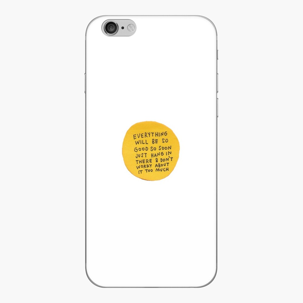 du bist gut genug !!! iPhone Klebefolie