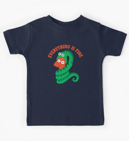 Everything Is Fine Kids Clothes