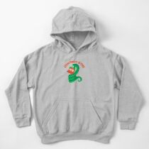 Everything Is Fine Kids Pullover Hoodie
