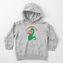 Everything Is Fine Toddler Pullover Hoodie