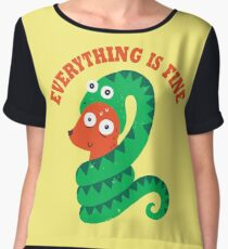 Everything Is Fine Women's Chiffon Top